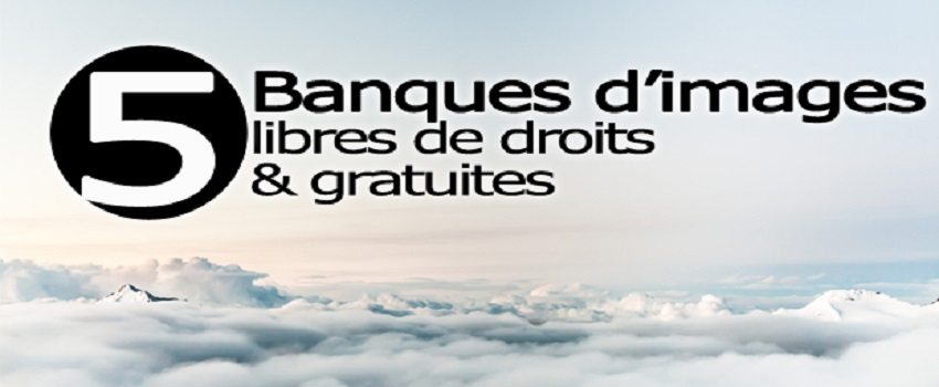 5 des sites de photos gratuites & libres de droits